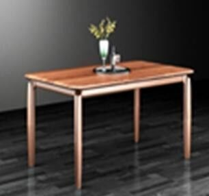 Modern Simple European Solid Wood Furniture / Solid Wood Dining Table