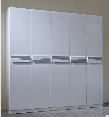 Non Toxic Material Modern Bedroom Furniture / Nordic Style Bedroom Furniture Wardrobe