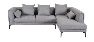 Environment Friendly Linen Fabric Sofa Good Fabric Surface Finishing